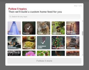 custom home feed