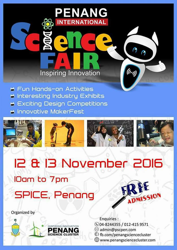 Penang Science Fair 2016
