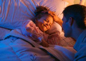 Bedtime story telling