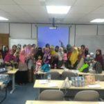 Gambar peserta seminar early edukids penang