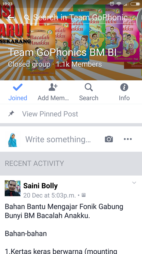 Kumpulan sokongan Fonik (Phonic Support Group)