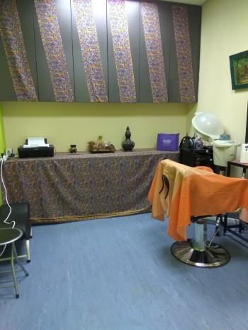 Bilik gunting rambut, Spa Mamacare Pulau Pinang
