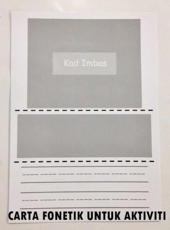 carta fonetik Kit Seronok Membaca