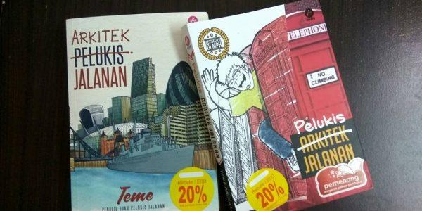 Buku Pelukis Jalanan, Perjalanan Mengejar Impian Tak Masuk Akal