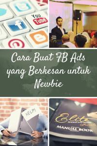 Cara Buat FB Ads yang Berkesan untuk Newbie