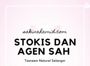 Stokis dan Agen Sah Tasneem Naturel seluruh Selangor